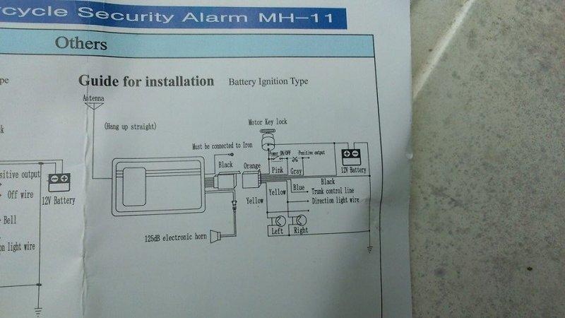 Need help! cheap alarm system fitting to speedfight 2 scooter on lextek alarm wiring diagram Alarm Switch Diagram Karr Alarm Installation Manual