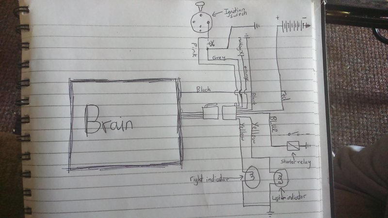 Stupendous Need Help Cheap Alarm System Fitting To Speedfight 2 Page 2 Wiring Cloud Nuvitbieswglorg