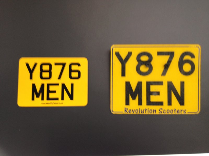 Awesome Legal Registration Plates Embellishment - Classic Cars Ideas ...